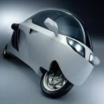 MonoTracer on futuristinen katettu moottoripyörä