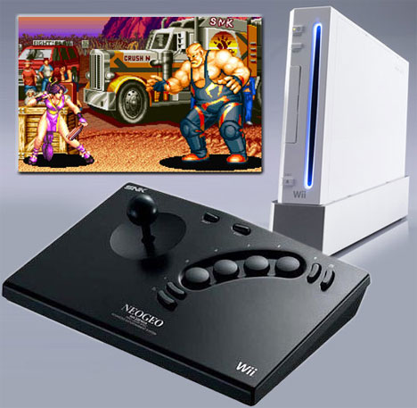 Neo Geo Stick 2 -arcade-ohjain Wii:lle