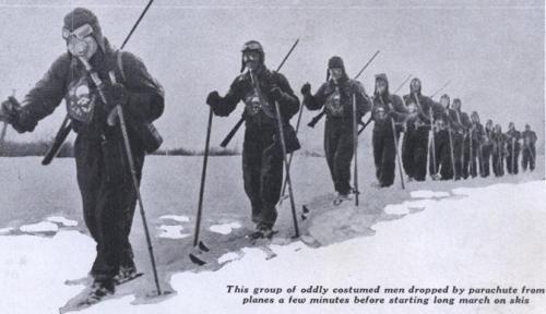 30 tuntia hiihtämistä kaasunaamarit kasvoilla