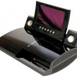 Playstation 3:een 7-tuumainen LCD-näyttö