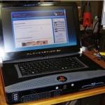 PS3 muutettu kannettavaksi tietokoneeksi