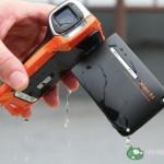 Sanyo DMX-CA8 on vesitiivis still-/videokamera