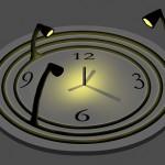 Bulbdial Clock on hehkulamppu-kello