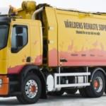 Volvo FE on hybridi-roska-auto