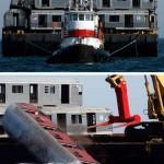 New Yorkissa vanhoista metrovaunuista tulee kalojen hotelleja
