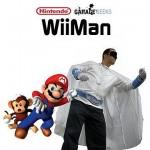 WiiMan supersankarin voima on Nintendo Wiin ohjaimena toimiminen
