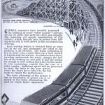 Vuoristorata-rautatie -idea vuodelta 1933