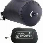 Pocket Shower korvaa jätesäkkisuihkun