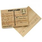 Kaiverra postikortti puuhun