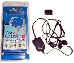 Äänenmuunnin-hands-free -yhdistelmä kännykkään