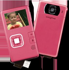 Creative Vado on halposvideokamera Youtube -videoiden kuvaamiseen