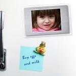 Jääkaappimagneetti -digitaalivalokuvakehys