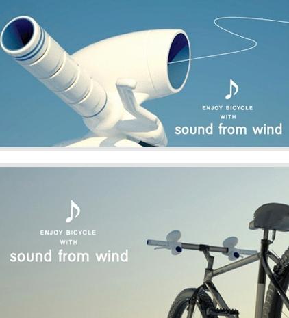 Sound from Wind, huilukahvat polkupyörään