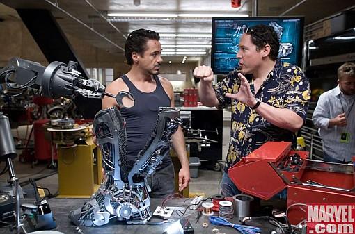 Iron Man on ehkäpä paras hilavitkutinleffa ikinä!