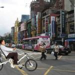 Tarinoita suomalaisen polkupyöräsuunnittelijan seikkailuista puolisoineen Taiwanissa