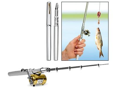 Kynävirvelin kanssa olet aina valmis kalaan