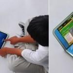 OLPC XO 2.0 – kannettava kahdella kosketusnäytöllä