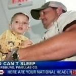 Kolmivuotias poika, joka ei ole ikinä pystynyt nukkumaan