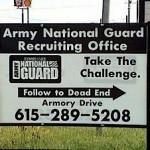 Heikko sanavalinta armeijaanvärväyskyltissä
