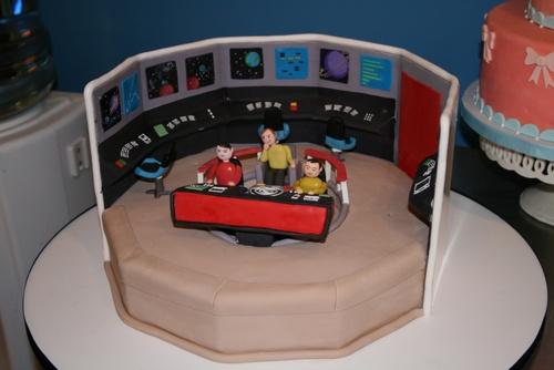 Star Trek kakku