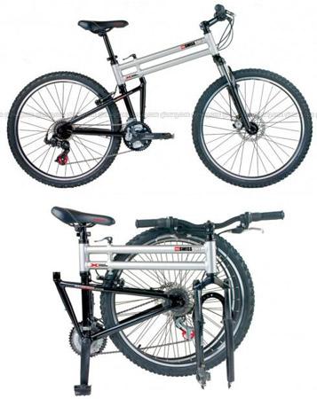 Kokoontaitettava polkupyörä ilman kompromissejä