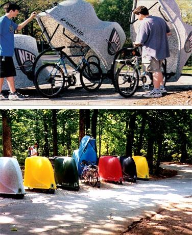 Bikelid-pyöräsuoja suojaa pyörän