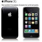 3G iPhonen hinta on Italiassa ilman sopimusta 499€ / 569€