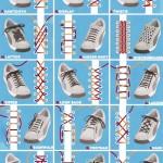 15 eri tapaa pujottaa kengännauhat