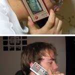 Nintendo Game & Watch ja NES-kännykkä