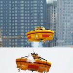 Kiinalainen firma rakensi lentävän lautasen 12 vuodessa 2,6 miljoonalla eurolla
