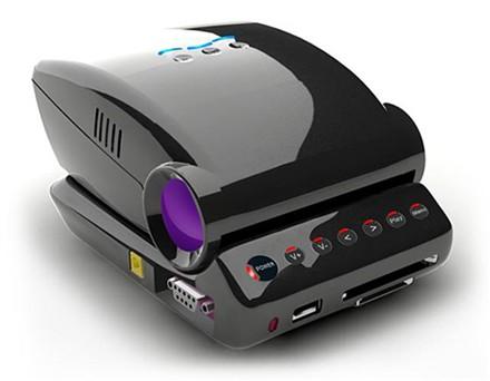 Honlai Technology esittelee MP100 mini LED projector -videotykin joka mahtuu kämmenelle