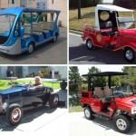 Modattuja golf-autoja
