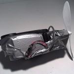 Ideablogin tuorein palkittu idea on itse tehty matkatuuletin
