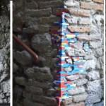 Italiassa vanhojen rakennusten seinät korjataan legopalikoilla