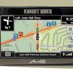 Mio Knight Rider GPS-navigaattori tekee mistä tahansa autosta Ihmeauto KITTin