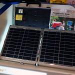 OPTI-Solar-matkalaukku lataa läppärin auringosta