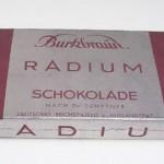 Radioaktiivista suklaata vuodelta 1931