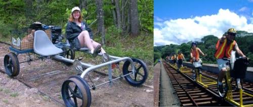 Railriders-yhteisö seikkailee USAn suljetuilla junaradoilla