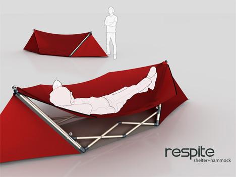 Riippukeinuksi muuntuva teltta