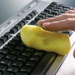 """Näppäimistö puhtaaksi Cyber Clean """"tekolimalla"""""""