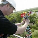 Uusi maailman korkein legotorni rakennettiin Kanadassa