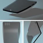 Benefon Proof -konseptipuhelin vuodelta 2001 tuo mieleen Applen iPhonen