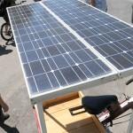 Ala-asteen opettaja rakensi aurinkokenno-fillarin jämäpaloista