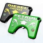 Fuel Checker haistelee onko hanassa oikea polttoaine