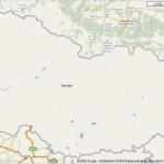 Georgian kartta tyhjeni Google Mapsissa