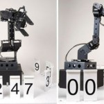 Stonehenge – A Robotic Digital Clock – Digitaalinen robottikello