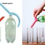 Skone-nokka helpottaa pullon tyhjentämistä