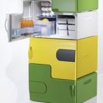 Flatshare Fridge tarjoaa soluasukkaille omat jääkaapit