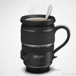 Zoomimuki sopii valokuvaajan kahvipöytään