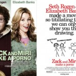 Zack and Miri Make A Porno -elokuvan uusi lapsille sallittu juliste